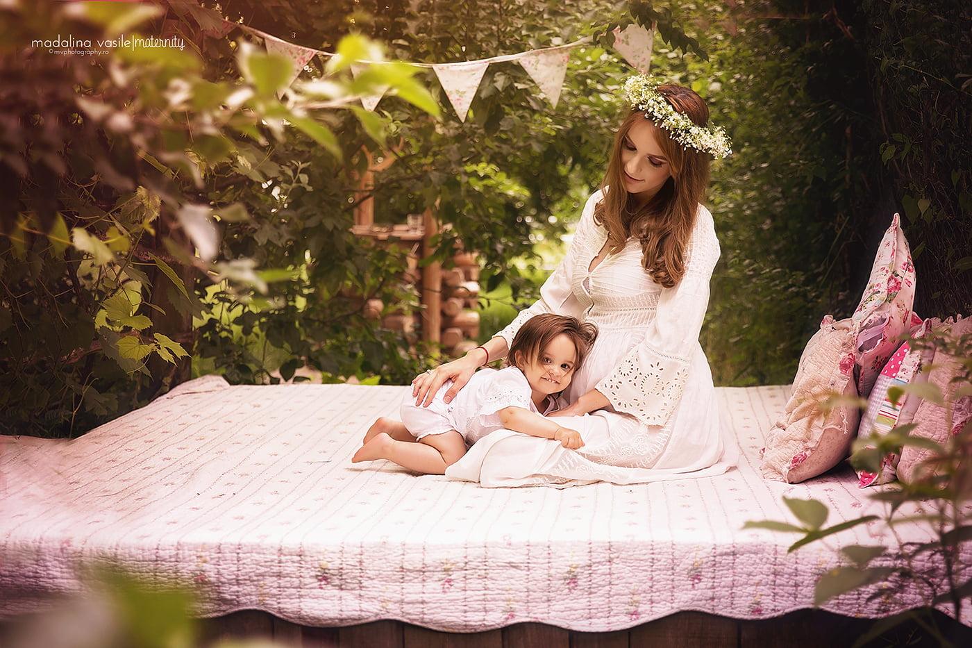Sedinta foto Maternitate Madalina Vasile