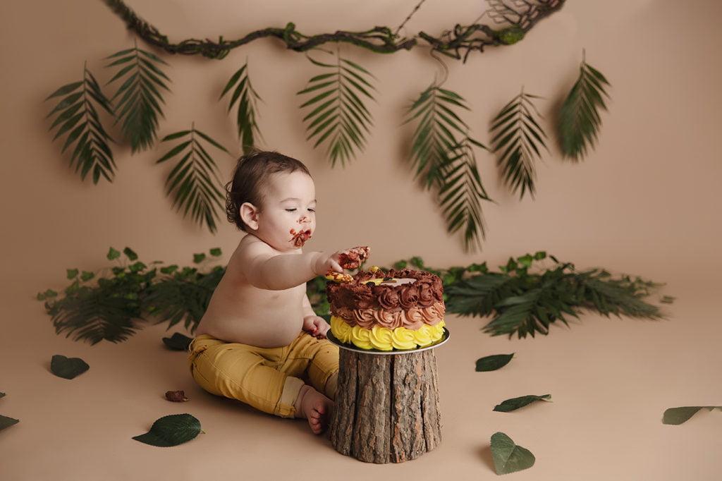 Sedinta foto Smash the cake